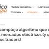 EL Periódico de la Energía – Euphemia, el complejo algoritmo que casa los precios de los mercados eléctricos (y que no entienden ni los traders) - Ingebau