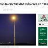 El Mundo – El verano con la electricidad más cara en 10 años - Ingebau